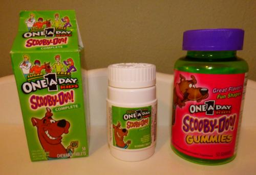 Scooby doo vitamins