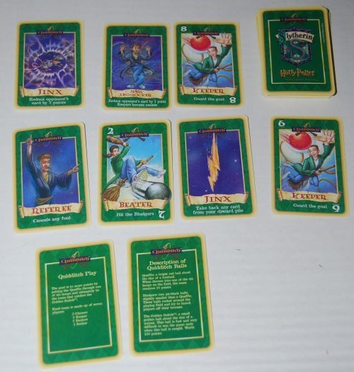 Harry potter quidditch card game 3