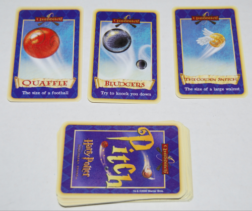Harry potter quidditch card game 4