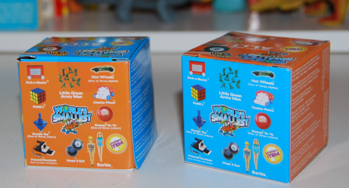 Si world's smallest toys