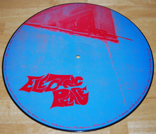 Electric peace vinyl