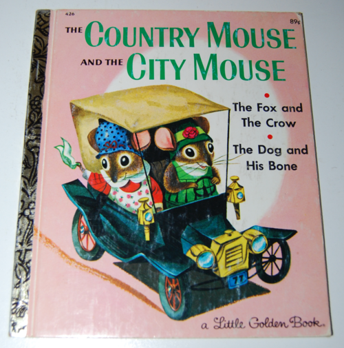 Lgb city mouse country mouse
