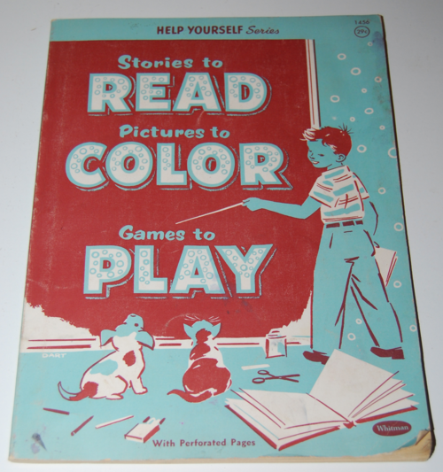 Whitman read color play book