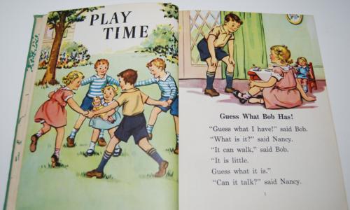 I know a secret 1947 vintage reader 3
