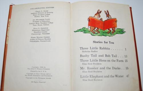 Fun in story vintage reader 2 1940