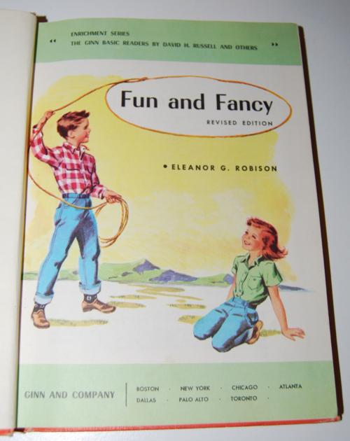Ginn fun & fancy vintage reader 1