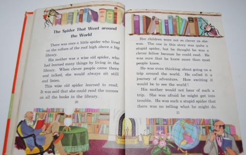Ginn fun & fancy vintage reader 4