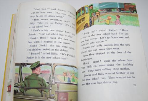 Ginn rainbows & ranches vintage reader 5