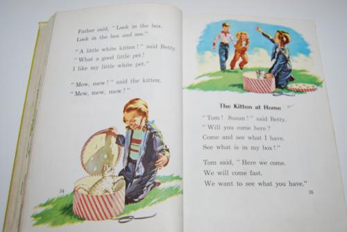 Ginn the little white house vintage reader 9