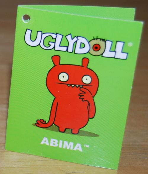 Uglydolls abima book