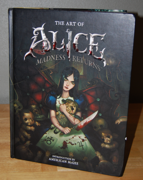The art of alice madness returns book