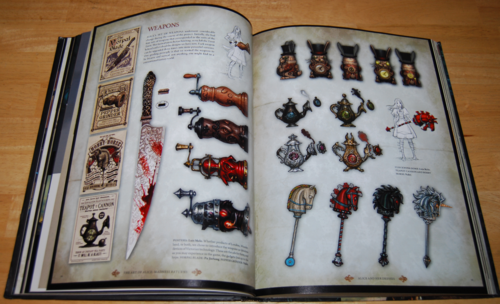 The art of alice madness returns book 6