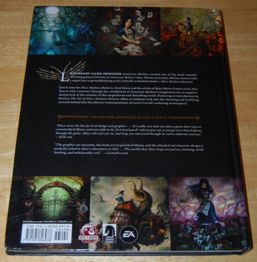 The art of alice madness returns book 14