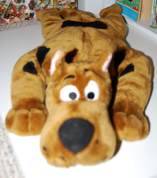 Scooby doo plush toy x