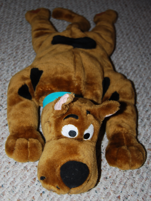 Scooby doo talking plush 2