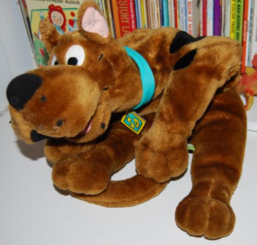 Scooby doo talking plush 4