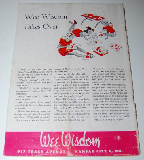 Wee wisdom october 1946 x