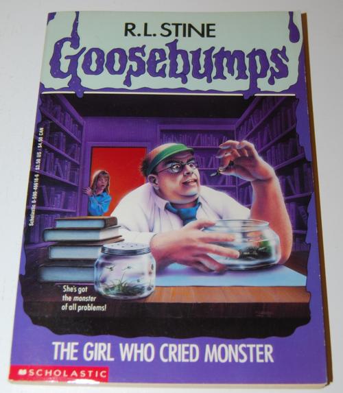 Goosebumps scholastic books 2