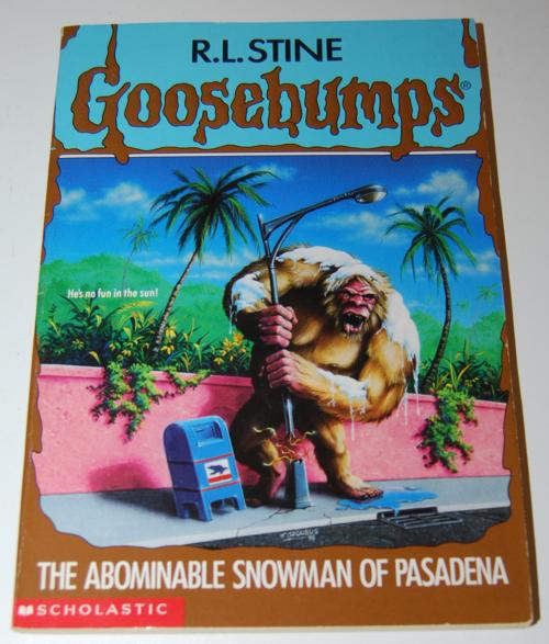 Goosebumps scholastic books 5