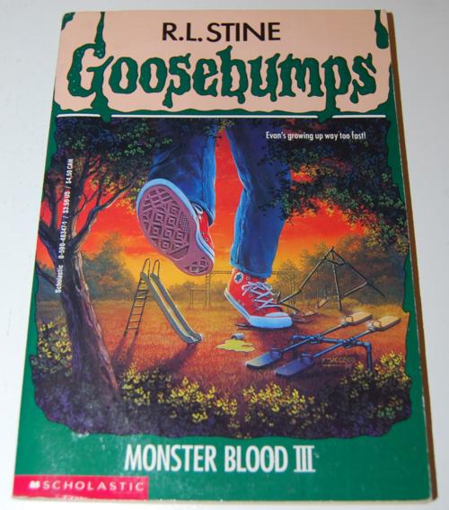 Goosebumps scholastic books 6