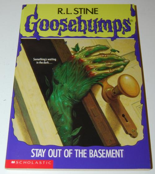 Goosebumps scholastic books 10