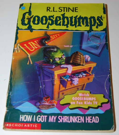 Goosebumps scholastic books 12