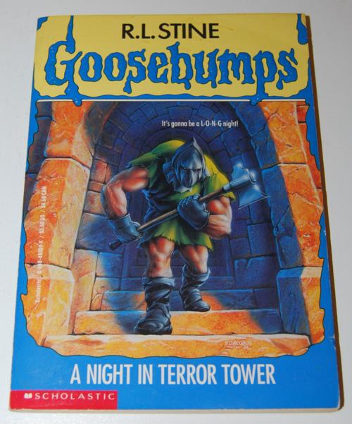Goosebumps scholastic books