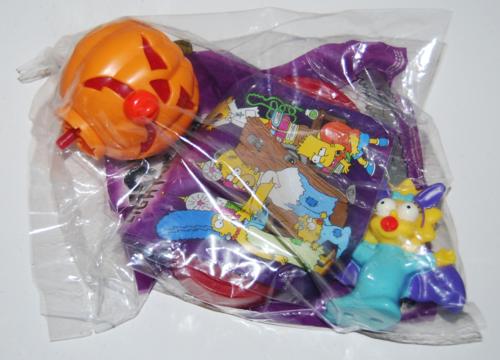 Bk simpsons spooky light up halloween toys 7x