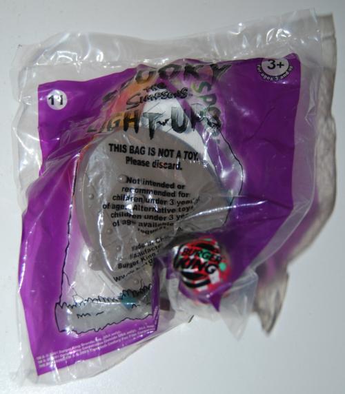 Bk simpsons spooky light up halloween toys 11
