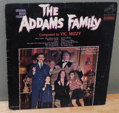 The addams family lp