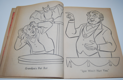 The munsters whitman coloring book 7