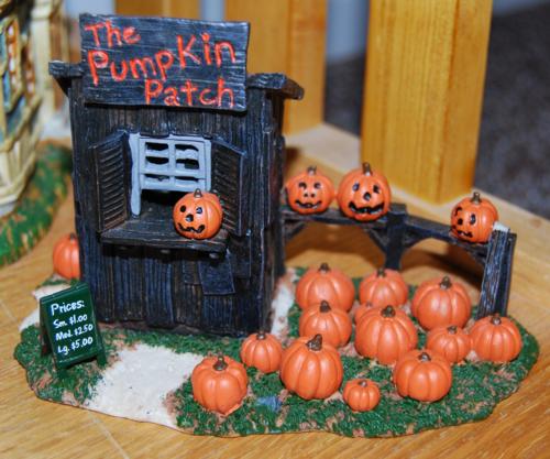 Lemax spookytown pumpkin patch