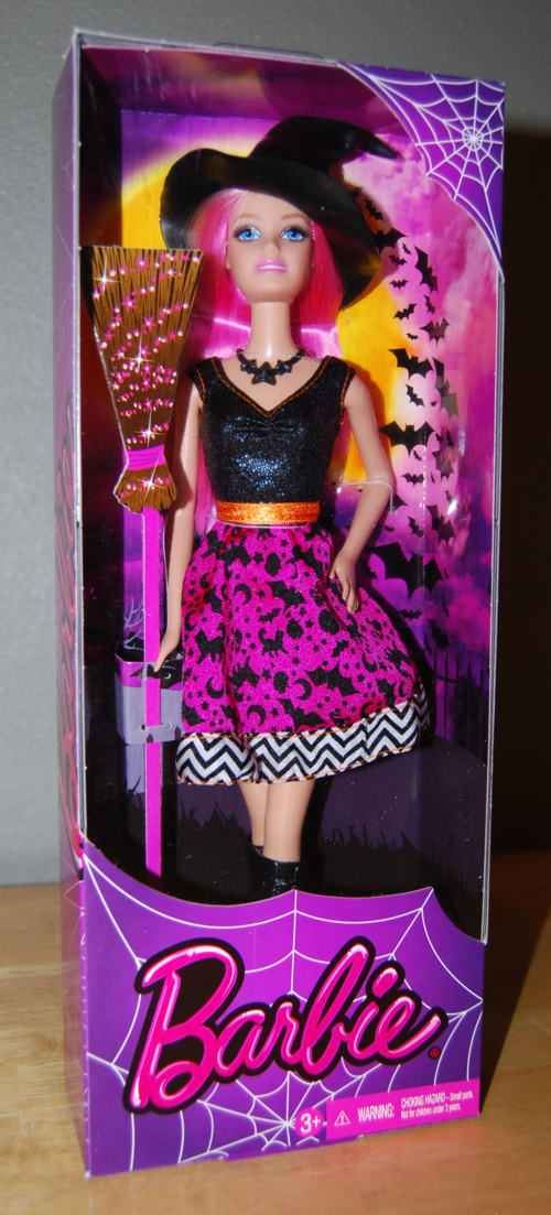 Halloween barbie 1