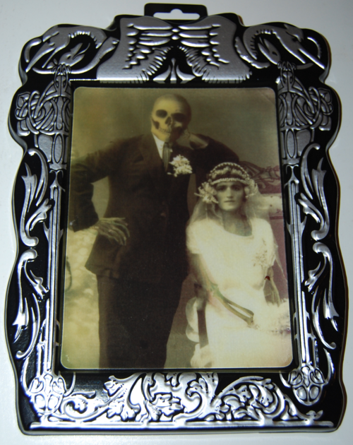 Lenticular halloween portrait