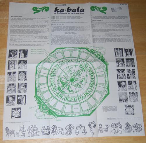 Kabala game transogram 13