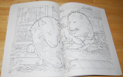 Animalia coloring book 4
