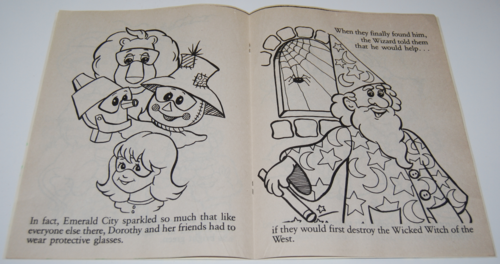 wizard of oz coloring book 3