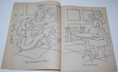 Alice in wonderland coloring book 3