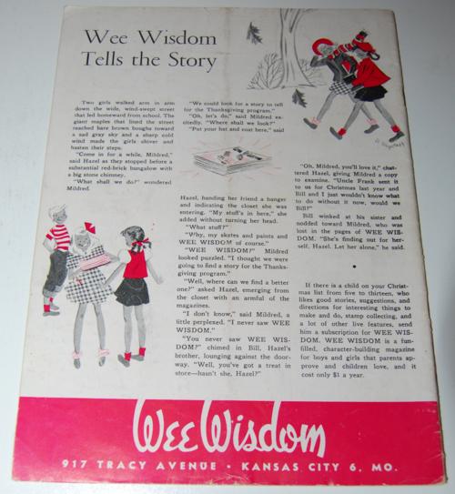 Wee wisdom november 1947 x