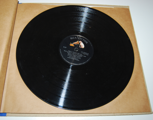 Rca victor vinyl 78s singing games for primary grades 8
