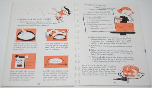 Fun to cook book carnation 7