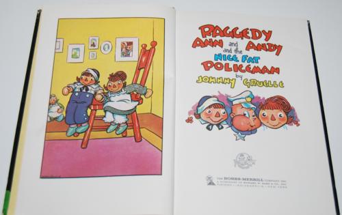 Raggedy ann & andy & the nice fat policeman 1
