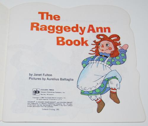 Raggedy ann golden book 1