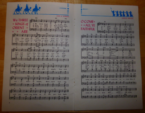 Vintage carols 2