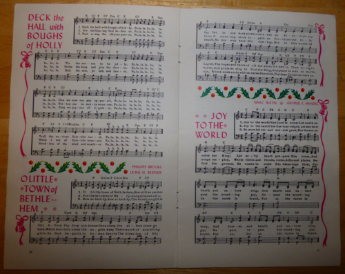 Vintage carols 4