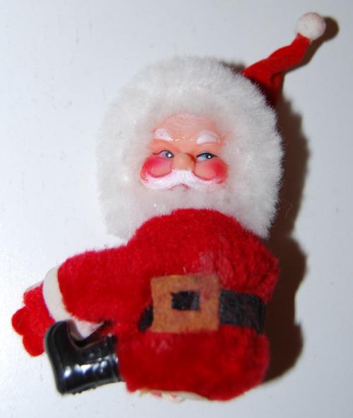 Vintage santa clip