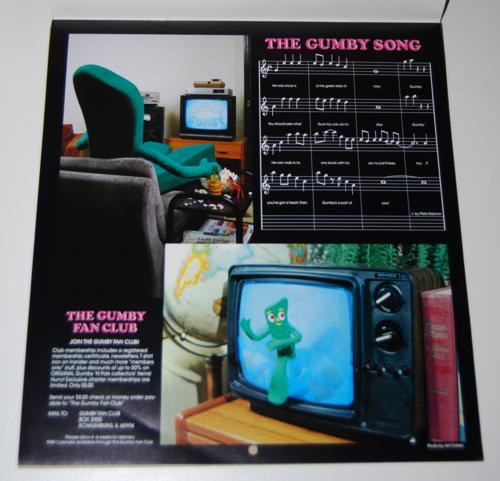 Gumby calendar