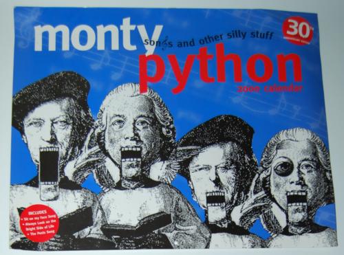 Monty python sings 2000 calendar