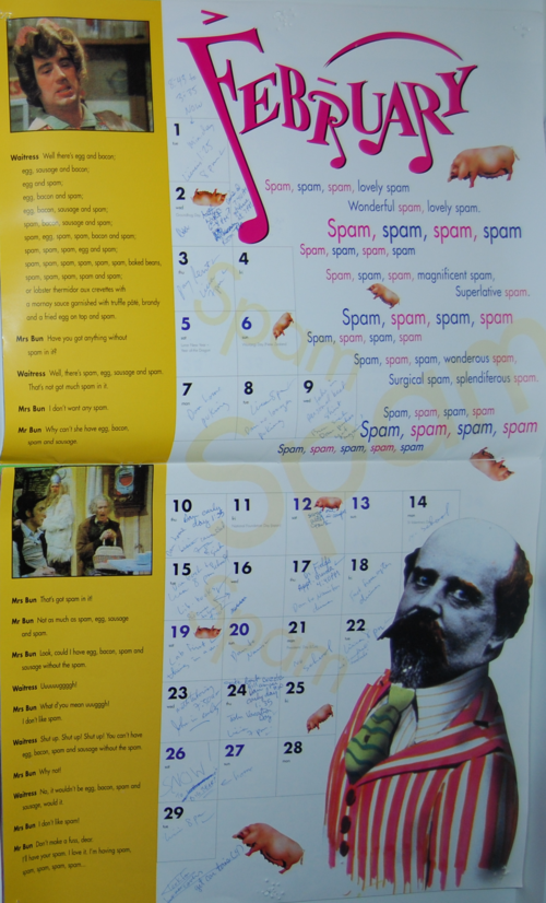 Monty python sings 2000 calendar 1