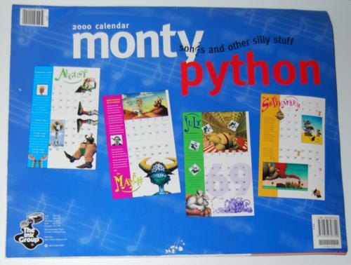 Monty python sings 2000 calendar 4